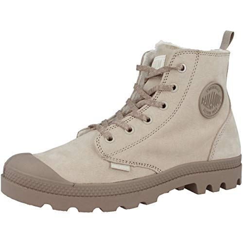 95982 Stivali 071 Pampa moonrock Donna Hi Feather Gray Zip Arricciati Palladium Wl wvHBqO