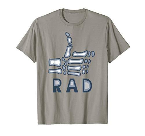 Radiology Tech TShirt, Rad Skeleton Thumb, X-Ray -