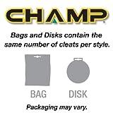 Champ Pivix SLIM-Lok Golf Spikes - White/Pink