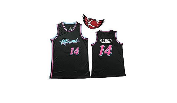 Tyler Herro Miami Heat - Camiseta de Baloncesto para Hombre ...