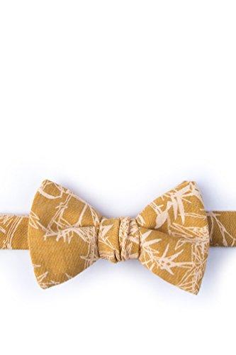 Ace Mustard Cotton Bow Tie (Ace Tie)