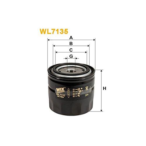 Wix Filters WL7135 Oil Filter: