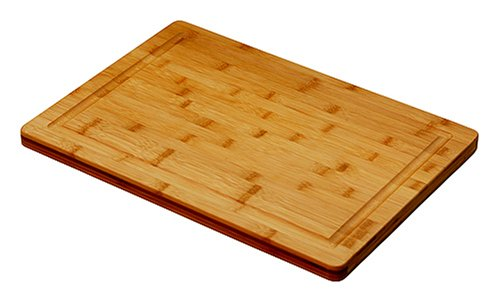 (Simply Bamboo CBVJ20 20 X 14 Valencia Bamboo Cutting Board w/Juice Groove)