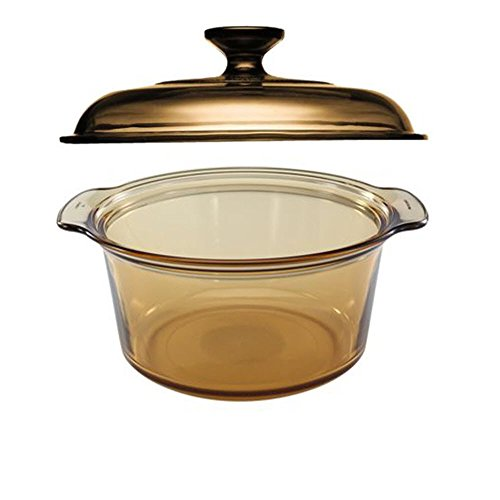 Visions 5L Round Dutch Oven With Glass Lid / -