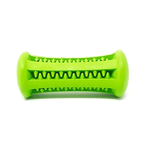 Petpany p20 Dog Toys Chew Toys Teeth Stick Bite Resistant Dumbbell Rubber Rod for Pet Teeth Cleaning&Training (3.5inch) by Petpany