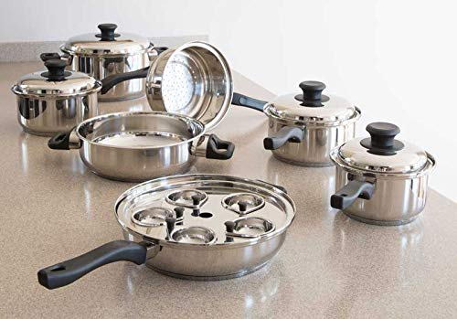 7ply waterless cookware - 2