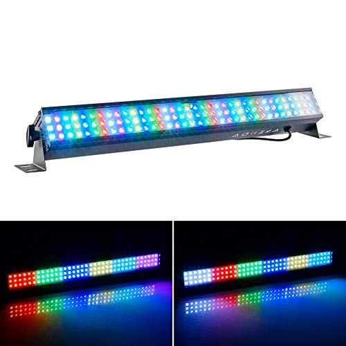 Light 1 Wall Washer (LED Wall Washer Linear Light Bar, 27W 108 Leds - RGB DMX Wall Washer Lighting With plug, For Bridge, Park, Disco, Bar,Club, Party, Wedding, Square, Building Hotels, Villa, Resort, Billboard)