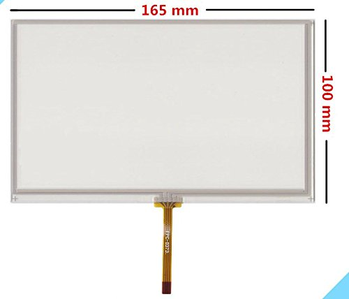 7 inch 4 wire 165mm100mm Resistive Touch Screen Digitizer AT070TN94 90 92 HSD070IDW1 D00 E11 LCD touch