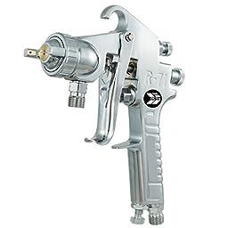 Ouya 71P Pressure Feed Air Paint Spray Gun Silver Nozzle Size 1.5mm