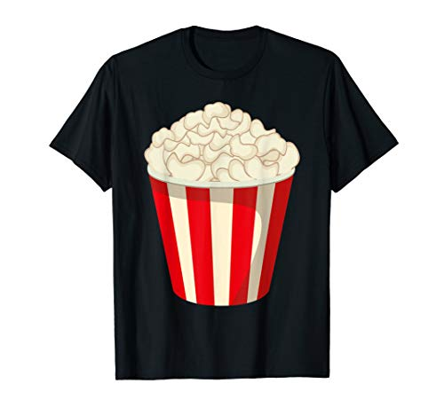Funny Popcorn Halloween Snack T-Shirt Last Minute