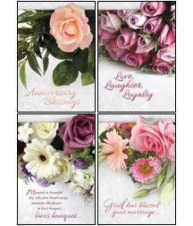 Boxed Christian Cards - Lasting Love - KJV Scripture Greeting Cards - Boxed - Anniversary