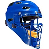 All Star Adult Hockey Style Catchers Helmets Royal Royal
