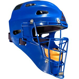 All Star Adult Hockey Style Catchers Helmets Royal Royal by All-Star