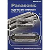 Panasonic WES9013PC Electric Razor Replacement Inner Blade and Outer Foil Set for Men Hypoallergenic Blades for Sensitive Skin Maintain Level of Grooming