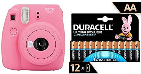 Fujifilm Instax Mini 9 - Cámara instantánea, Solo cámara, Rosa con ...