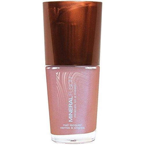 Nail Polish Pink Fire Opal Mineral Fusion 0.33 oz Liquid