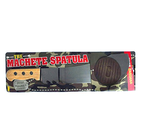 Machete Spatula for Grilling and Barbecuing - Perfect for Burgers, Hot Dogs, Veggie Patties and Other Food