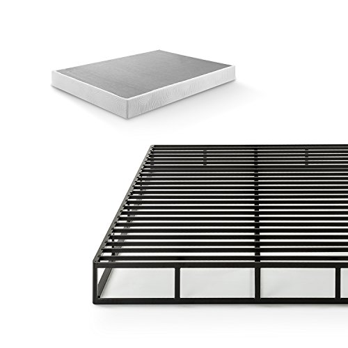Zinus 7.5 Inch Quick Lock Smart Box Spring / Mattress Foundation / Strong Steel Structure / Easy Assembly, Twin