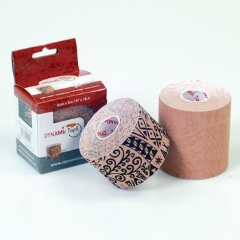 Dynamic Tape - Tan, 3'' x 16.4' (5cm x 5m) 4 rolls