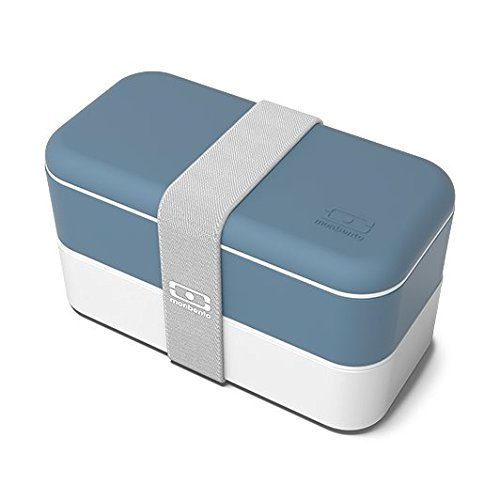 Monbento 3760192684514:MB Original Denim Lunch Box, Blue