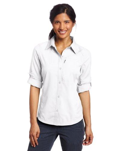 COLUMBIA Womens Silver Ridge Orange Short Sleeve Shirt NWT L Large