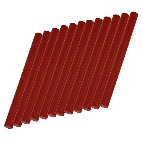 Glue Gun Sealing Wax, Yoption 12 Pcs No Cord Wicks Cylindrical Fire Manuscript Seal Wax Sticks for Glue Gun (Chinese ()