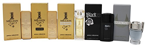 PACO RABANNE Miniature Fragrance Set, 5 Count