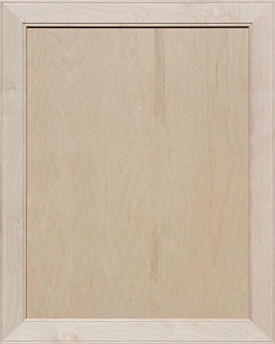Unfinished Maple Mitered Flat Panel Cabinet Door by Kendor, 30H x 24W by Kendor