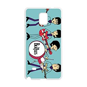 SKULL Cartoon The Beatles Fashion Comstom Plastic case cover For Samsung Galaxy Note4