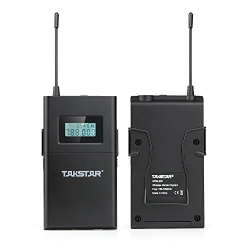 Takstar WPM-200 In Ear Stage UHF Wireless Monitor System for studio recording/on-stage monitoring (1 transmitter and 1 receiver) by TAKSTAR (Image #3)