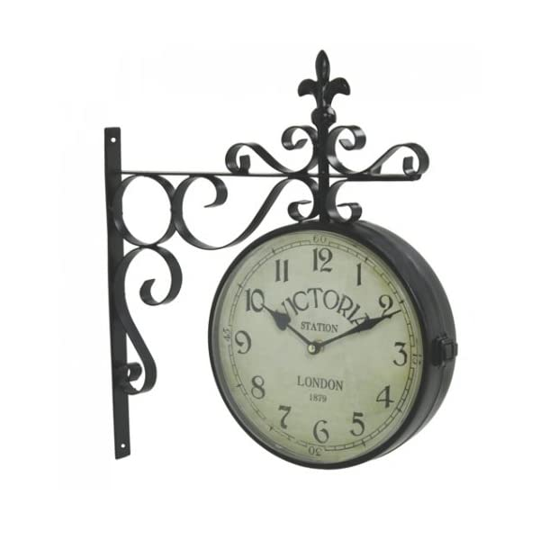 Upper Deck Vintage Victoria Station Railway Station Clock London - Reproduction 3