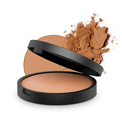 INIKA Baked Mineral Bronzer, Popular Bronzer, Matte Mineral Make-Up Formula, Lightweight, Long Wearing, SunKissed Glow, Vegan, Hypoallergenic, Dermatologist Tested, Oil Free, 8g (0.28 oz) (Sunkissed)