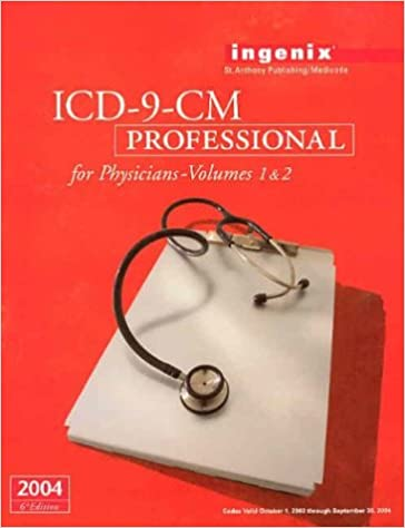 ICD-9-CM Professional for Physicians, Volumes 1 & 2 - 2004 (Softbound) (Physician's Icd-9-Cm)