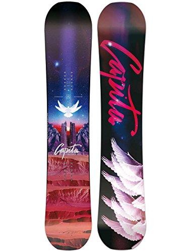 Capita - Womens Space Metal Fantasy Snowboard 2018, 151 -