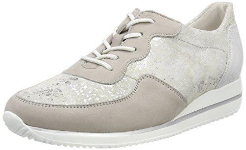 De Cordones Zapatos Mujer Bufa Plateado Stein Silber Oxford Garden nubuk Para Himona 070 Waldläufer qRE5xwtR