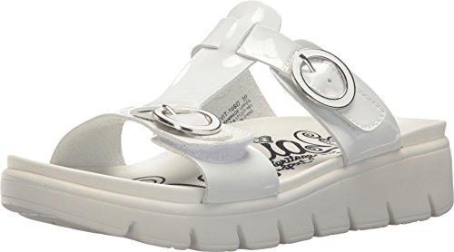 Alegria Womens Vita Sandal, Duo White Patent, Size 41 EU (10.5-11 M US Women)