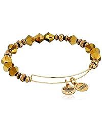 Alex and Ani Wonder Expandable Golden Luster Rafaelian Gold-Tone Bangle Bracelet