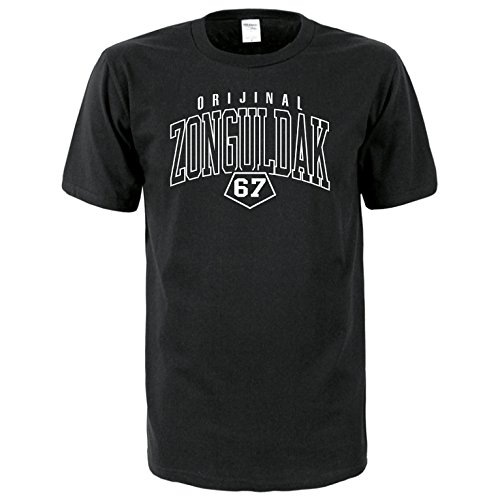 Zonguldak 67 Türkiye T-Shirt Euro-Fit schwarz