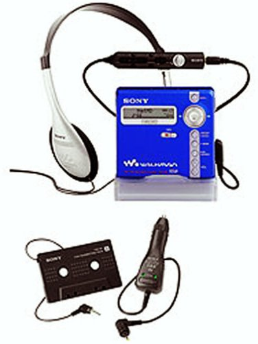 Sony MZ-N707 Net MD Walkman Player/Recorder (Blue) by Sony