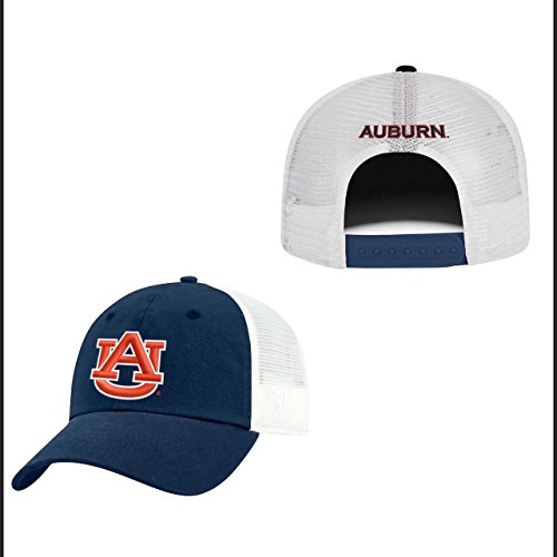 (Top of the World Auburn Tigers Adult NCAA Team Spirit Relaxed Fit Meshback Hat - Team Color,)
