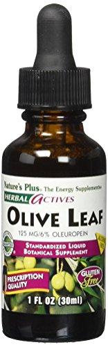 Nature's Plus Liquid Olive Leaf 125 mg, 1 Ounce