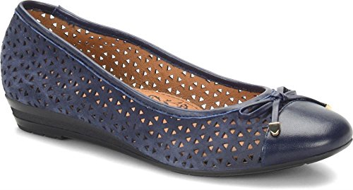 Sofft Women's Selima II Honor Blue King Suede/Velvet Sheep Nappa 8 M (B)