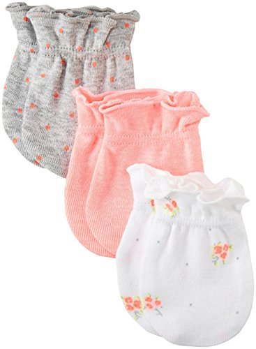 Carter's Baby Girls Mitts 126g510, Pink, 0-3 Months Baby