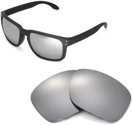 Walleva Replacement Lenses for Oakley Holbrook Sunglasses - 22 Options