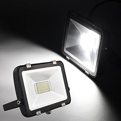 LED Anti-dazzle Flood Light Waterproof Outdoor Garden Spot Lamp AC200-240V (Watt 30W Color White)