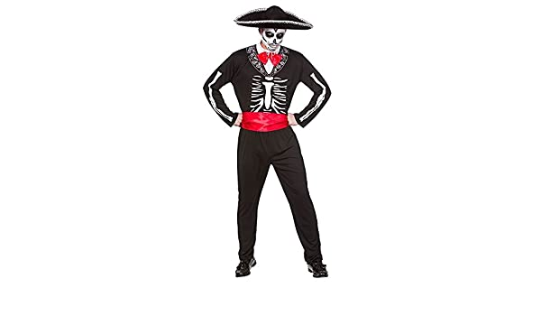 Mariachi Day Of The Dead - Adult Costume X LARGE: Amazon.es: Ropa ...
