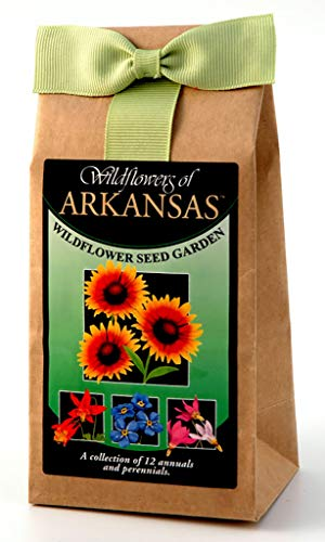 Arkansas Wildflower Seed Mix - A Beautiful Collection of Twelve Annuals & Perennials - Enjoy The Natural Beauty of Arkansas Flowers in Your Own Home Garden