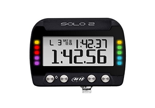 (AIM Solo 2 GPS Lap Timer All New Much faster and more precise Configurable)