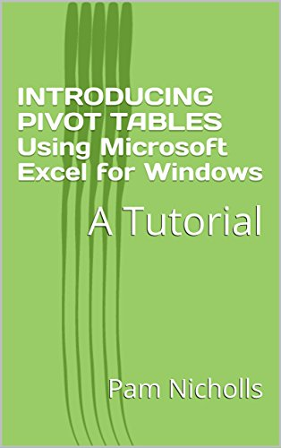 amazon com introducing pivot tables using microsoft excel for