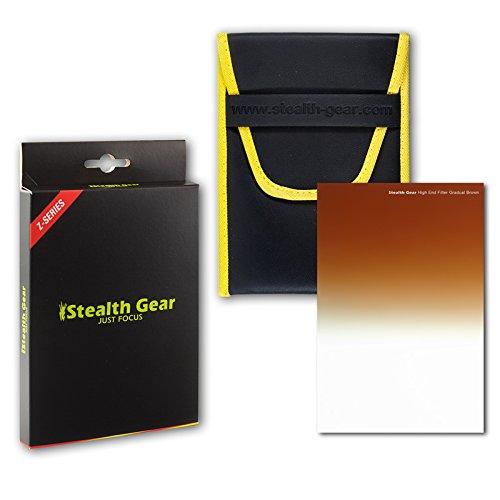 Stealth Gear SGWRGRBR Wide Range Pro Filter - Gradual Brown